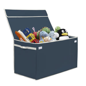 Large Collapsible Toy Box - Gray - Great Useful Stuff