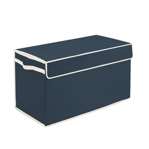 Large Collapsible Toy Box Orion Blue - Personalized - Great Useful Stuff