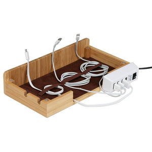 Essential 4-Port USB Power Strip with Extra Long Cord - Great Useful Stuff