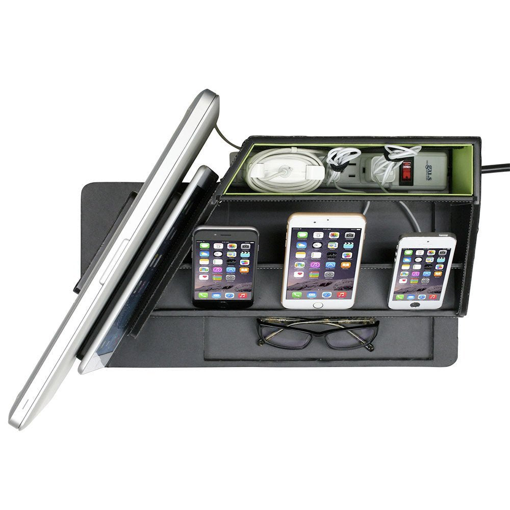 All-in-One Multi Charging Station and Organizer