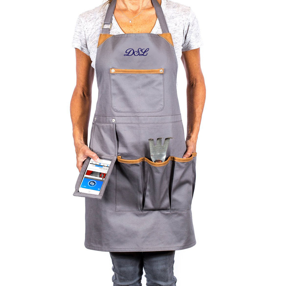 Techie Apron with Smart Pocket - Personalized - Great Useful Stuff