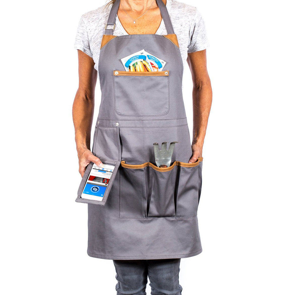 Techie Apron with Smart Pocket - Great Useful Stuff