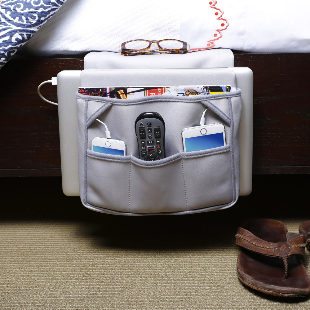 Bedside Laptop Organizer - Great Useful Stuff