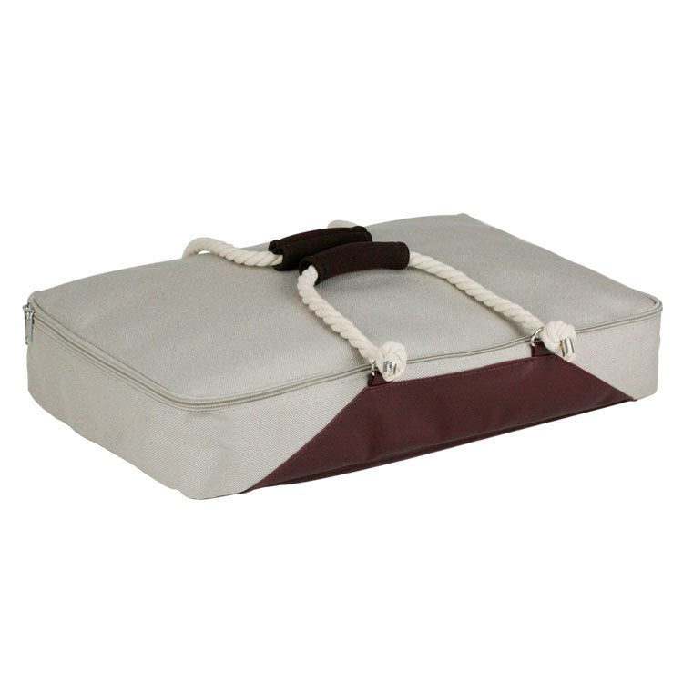 Insulated Casserole Carrier with Rope Handles