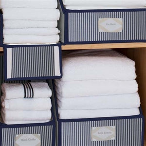 Load image into Gallery viewer, Brushed Cotton Linen Closet Storage Collection - Buy 2 and get the 3rd free - Great Useful Stuff