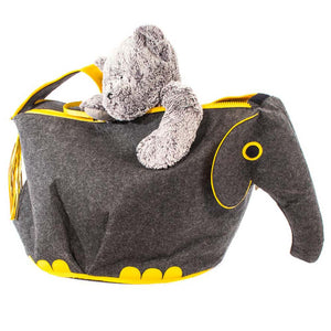 Load image into Gallery viewer, Elephant Toy Storage Bin - Great Useful Stuff