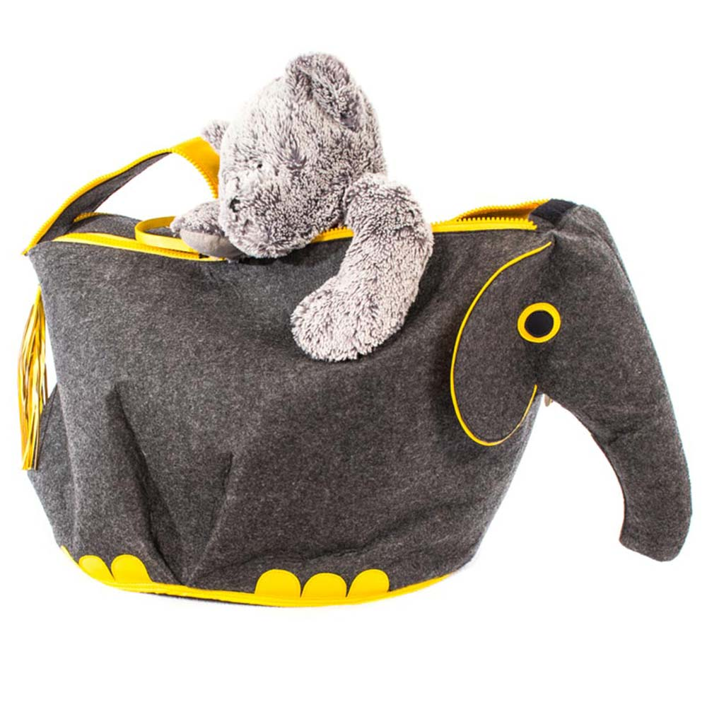 Hippopatamus Toy Storage Bin - Great Useful Stuff