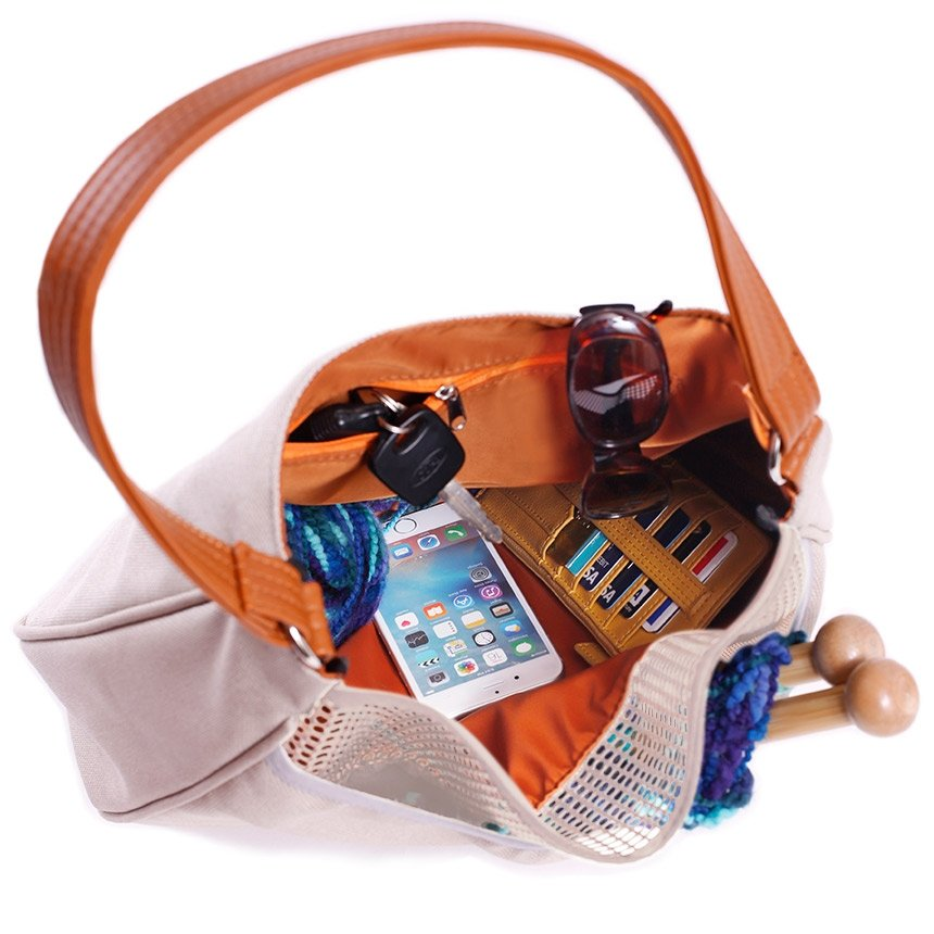 Knitting Hobo Bag - Personalized - Great Useful Stuff