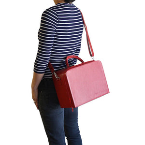 Knitting Case with Shoulder Strap & Handle
