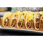 Eco-Friendly Bamboo Taco Tray