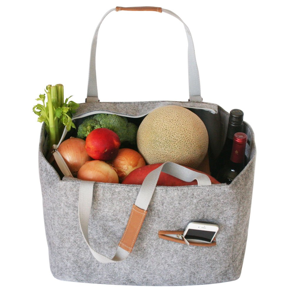 Farmer's Market And Picnic Tote - Personalized - Great Useful Stuff
