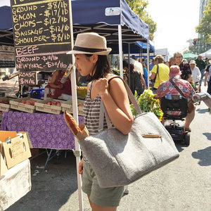 Farmer's Market And Picnic Tote - Great Useful Stuff
