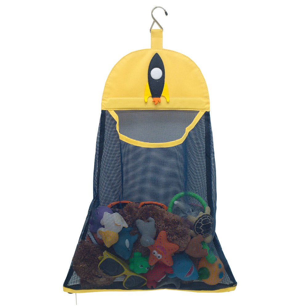 Bath Toy Mesh Bag - Navy Rocket - Great Useful Stuff