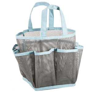 Load image into Gallery viewer, Mesh Shower Tote