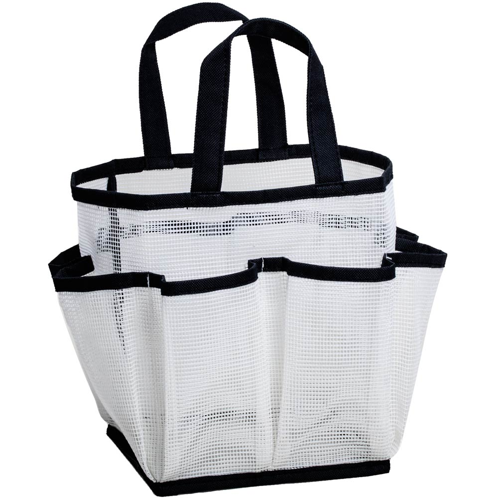 Load image into Gallery viewer, Mesh Shower Tote - Great Useful Stuff