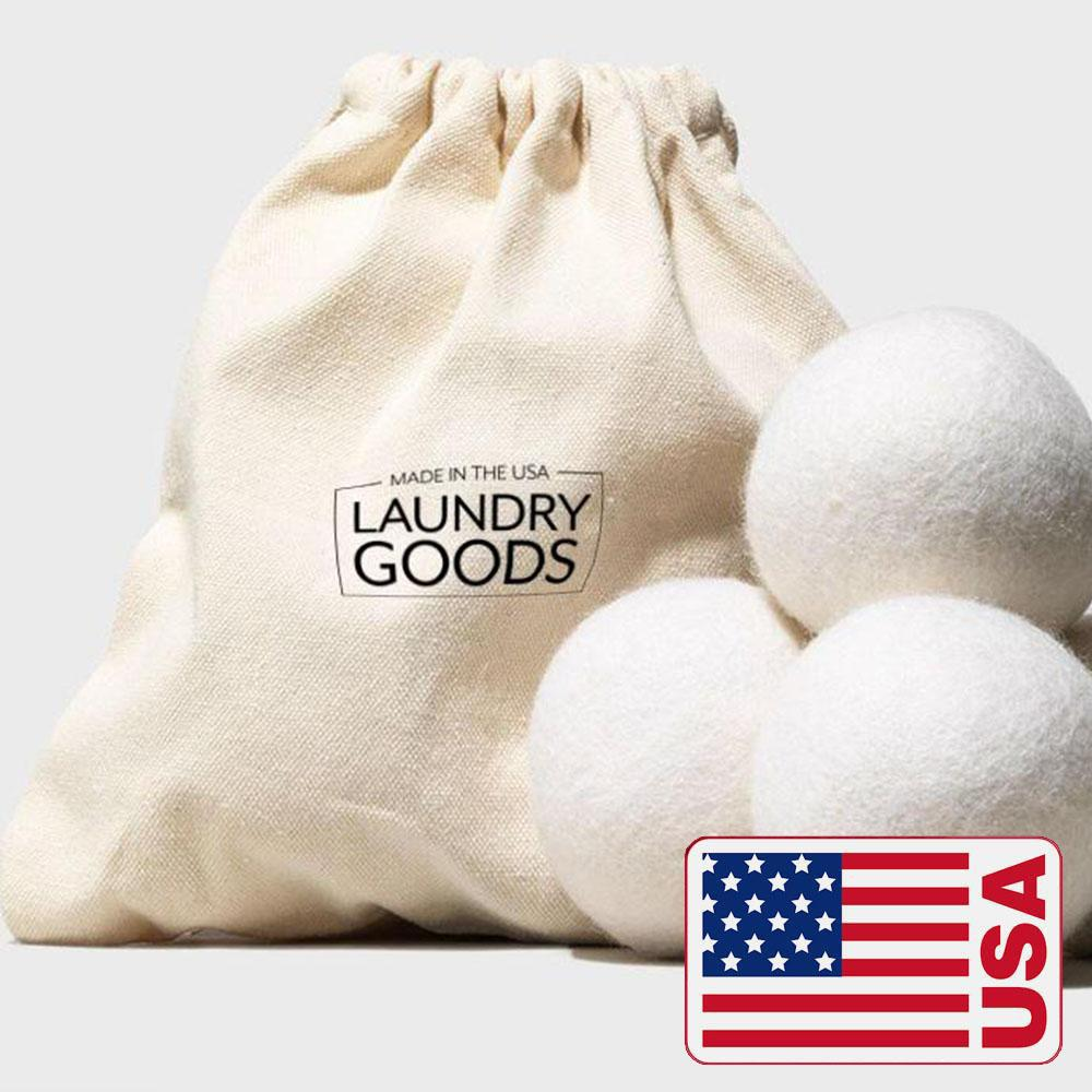 Made in the USA Handmade Dryer Balls (Set of 3)