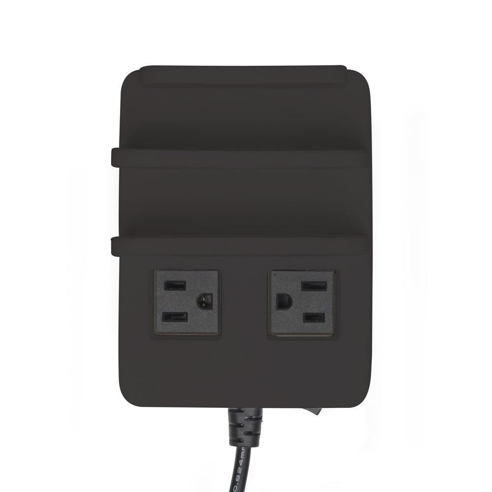 Power Hub PLUS- 5 USB & 2 AC Outlets