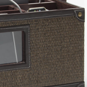 Portable Charging Center for All Your Tech - (Rattan) - Great Useful Stuff