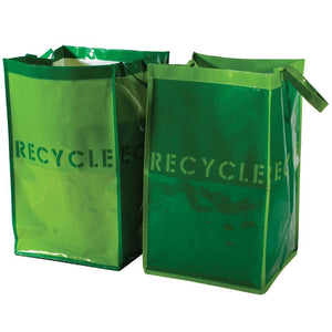 Reusable Recycle Bags for Home or Garden - Set of 2