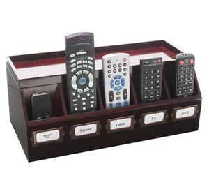 Remote Control and Cord Hideaway Station (Cherry)