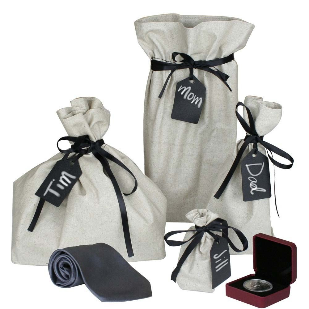 Load image into Gallery viewer, Reusable Gift Bags (Set of 4) - Great Useful Stuff