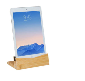 Bamboo Tablet Dock (iPad Stand & Holder) - Personalized