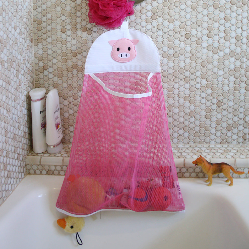 Bath Toy Mesh bag - Lt. Blue bear