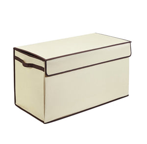 Large Collapsible Toy Box Ivory - Personalized - Great Useful Stuff
