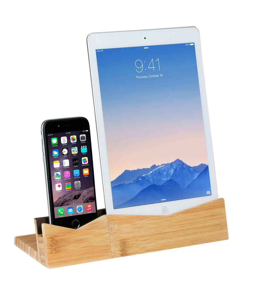 Bamboo Phone Dock and Stand - Great Useful Stuff