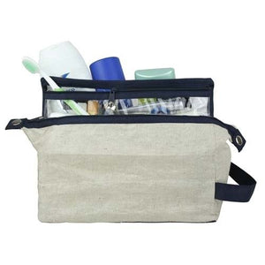 TSA Friendly Waxed Cotton Dopp Kit - Great Useful Stuff