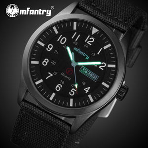 INFANTRY Men's Daytona Watch - Luminous and Waterproof