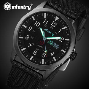 INFANTRY Men's Watch - Waterproof - Tactical Style