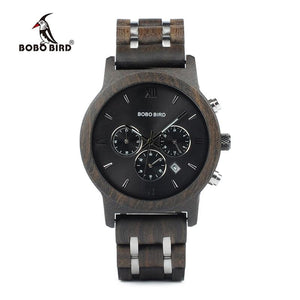 BOBO BIRD Wooden Mens Watch