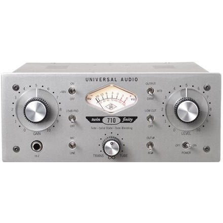 Universal Audio  710 Twin-Finity™ Tone-Blending Mic Preamplifier & DI Box