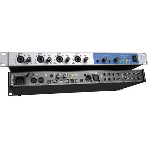 RME Fireface 802    60 Channel 192 kHz USB/Firewire Audio Interface