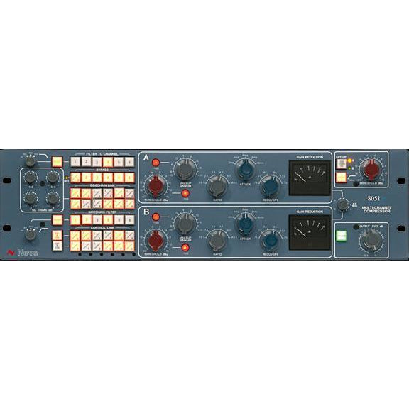 AMS Neve 8051 Surround Compressor - Analogue 5.1 based on 33609 Circuit