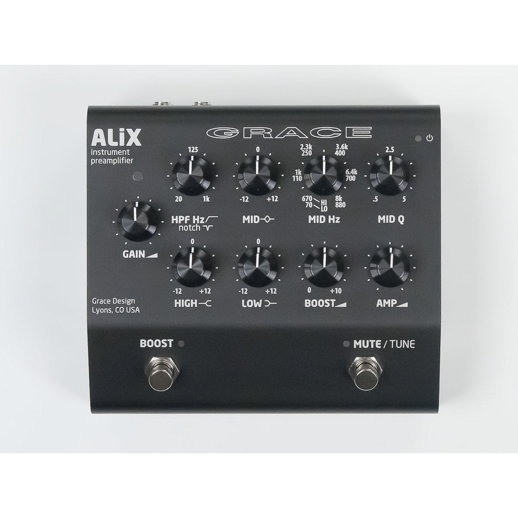Grace Design ALiX - Studio Quality Instrument Preamplifier / DI / EQ / Boost