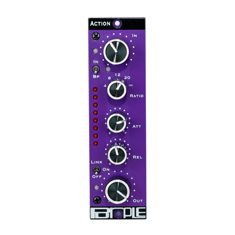 Purple Audio ACTION 500 Series Compressor / Limiter