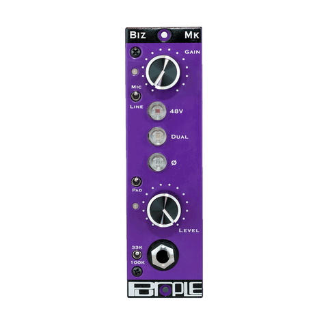 Purple Audio BIZ 500 series Mic pre