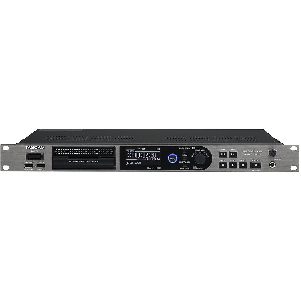 Tascam DA-3000 High-definition audio recorder / AD/DA converter