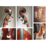 Double Bass by Phillip Keller circa 1890 3/4 size