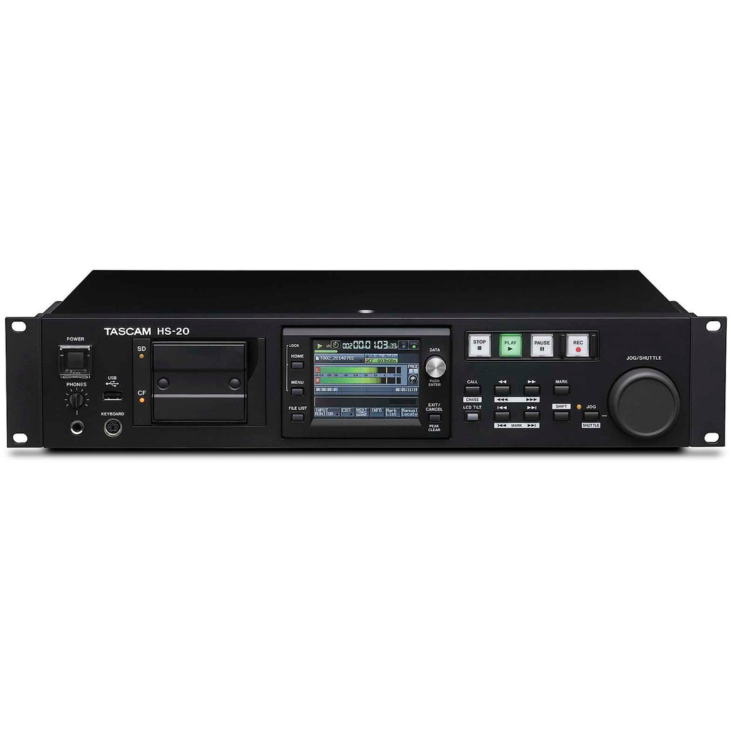 Tascam HS-20 Professional Stereo Audio Recorder