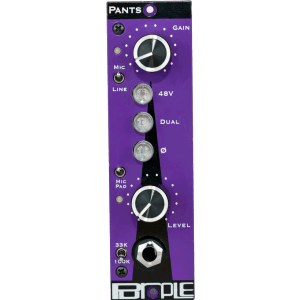 Purple Audio PANTS 500 series Mic Line Pre