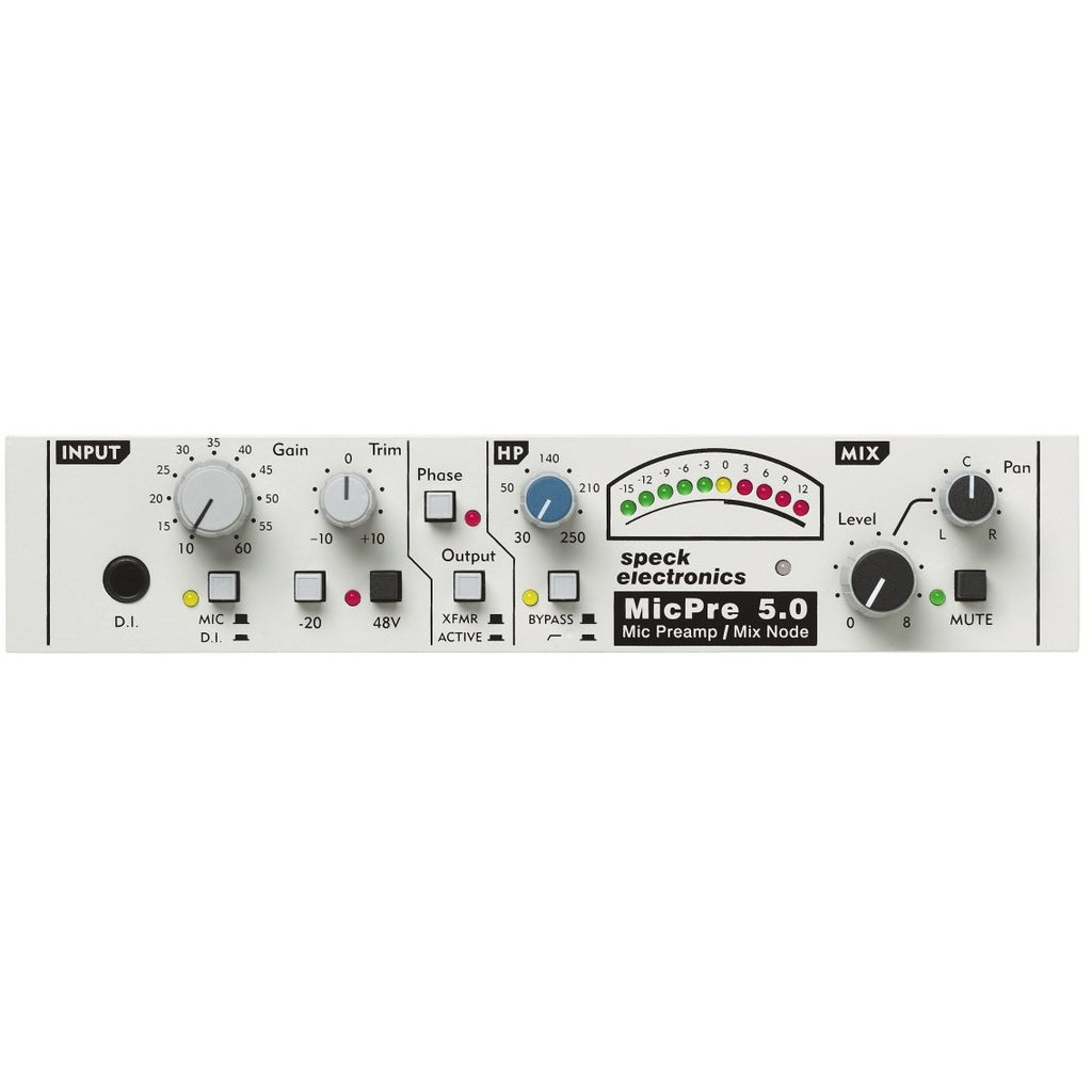 Speck Electronics MP5.0 Single Channel Microphone Preamp.