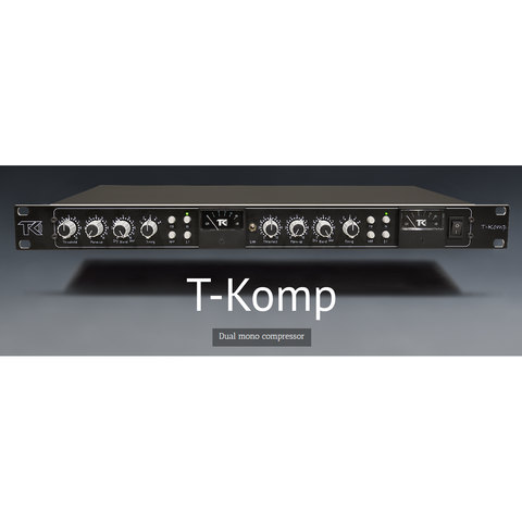 TK Audio T-Komp Dual Mono Compressor with Parallel Compression.