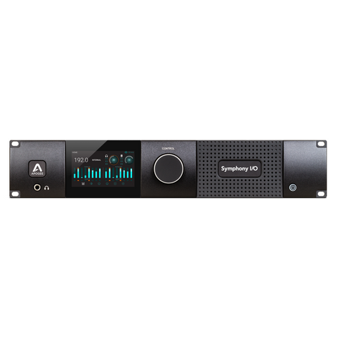 Apogee Symphony I/O MKII Thunderbolt Chassis with 8x8 Analog I/O + 8x8 AES/OP I/O + 8 Mic Pre Amp Module (Both slots populated)
