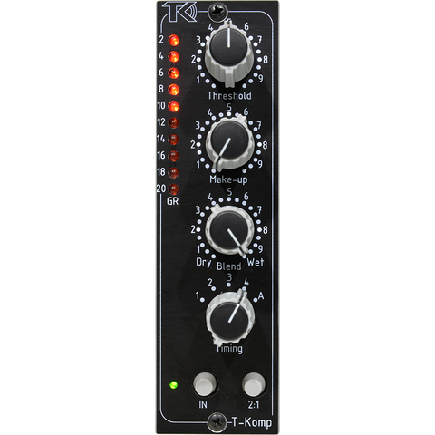 TK Audio T-Komp with Parallel Compression - 500 Series