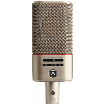 Austrian Audio OC818 Multipattern Dual Output Condenser Microphone with world's first optional wireless Control