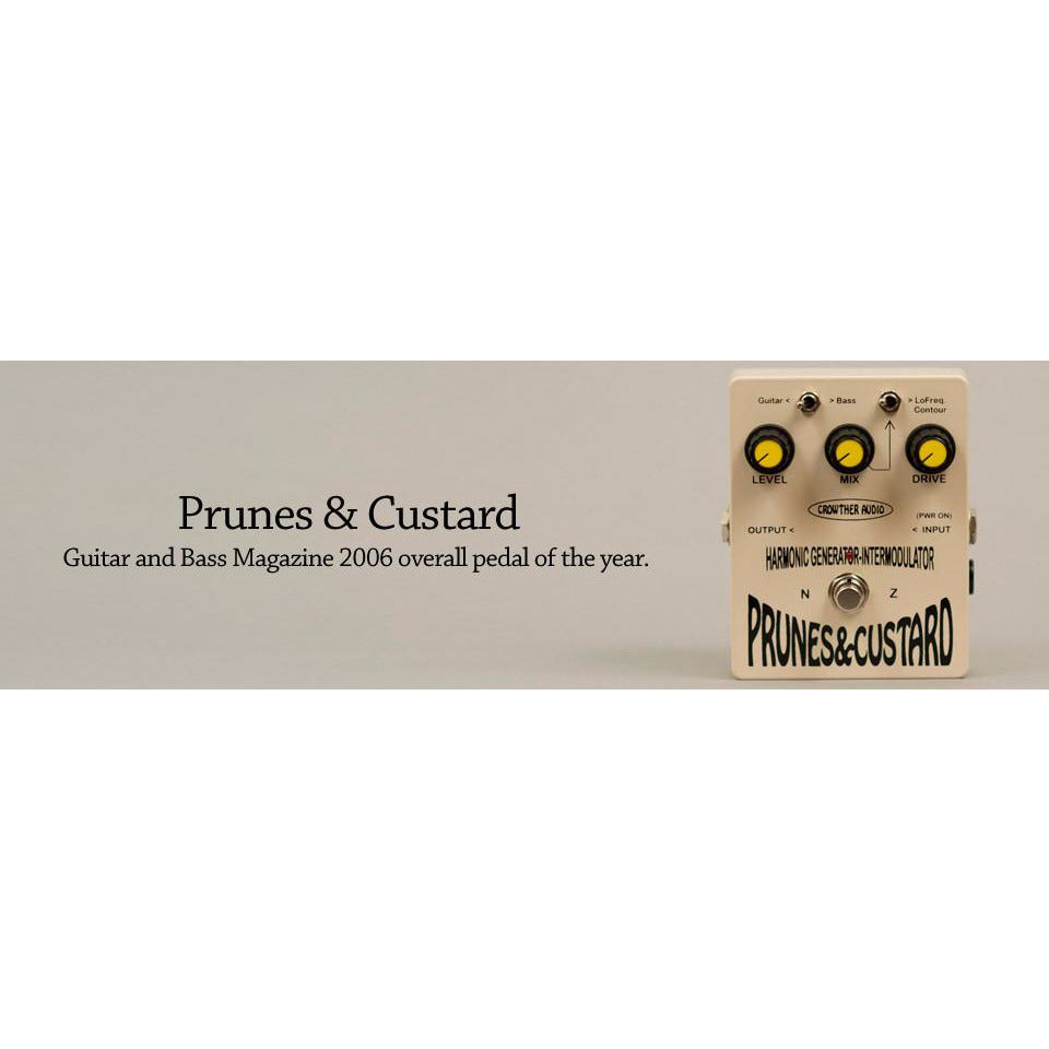 Crowther Audio Prunes & Custard