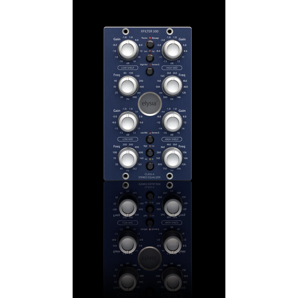 Elysia Xfilter 500   The Universal Equalizer